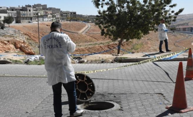 Gaziantep'te kanalizasyonda el bombası bulundu