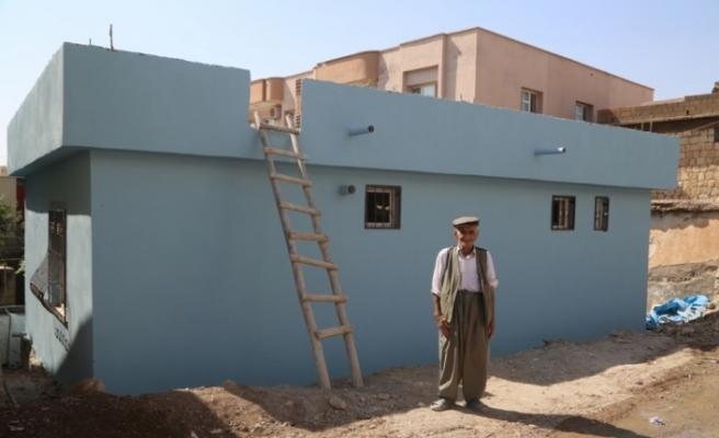Görevlendirme yapılan belediye, vatandaşların evini yeniledi