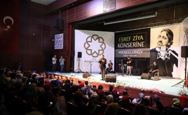 Mardin Büyükşehir Belediyesinden Eşref Ziya konseri