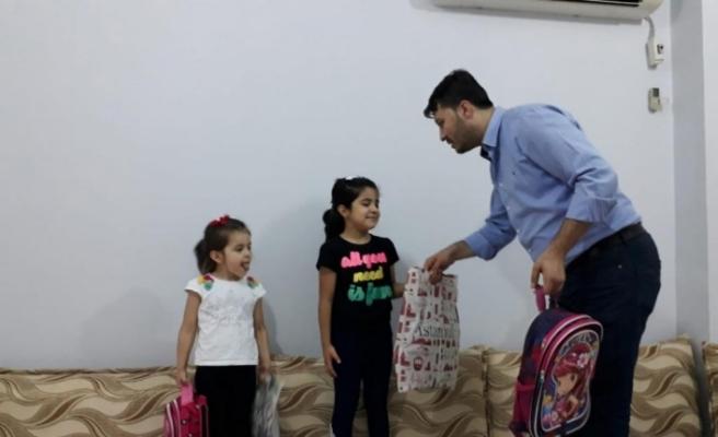 Mardin Müftülüğünden öğrencilere kırtasiye yardımı