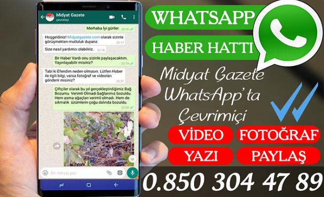 Midyat Gazete WhatsApp Haber Hattı Kuruldu