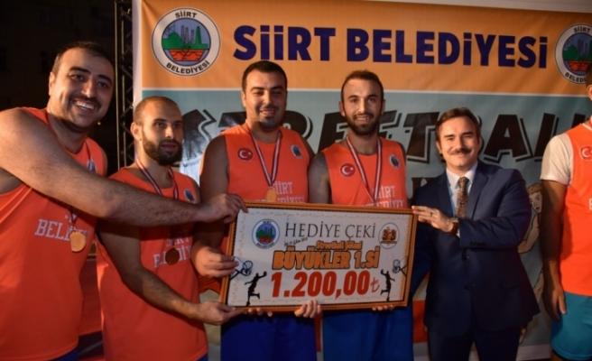 Siirt'te Sokak Basketbolu Turnuvası