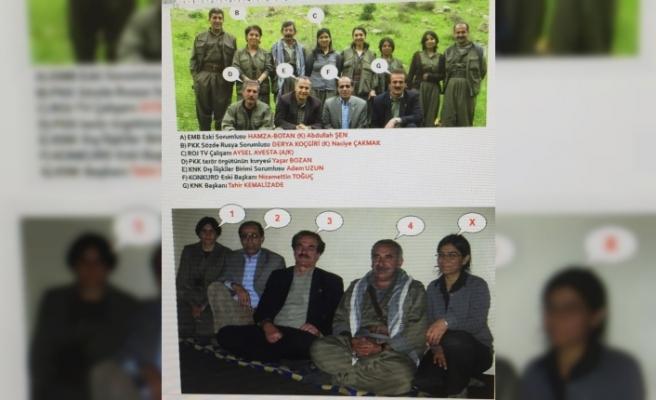 Terör örgütü elebaşlarıyla fotoğrafları ortaya çıkan HDP il başkanı tutuklandı