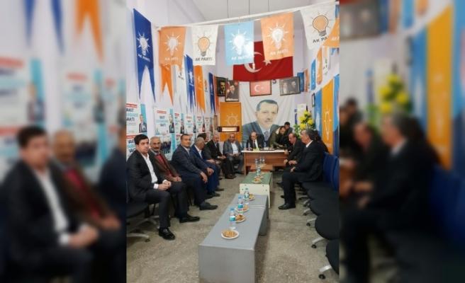 Budak, belediye başkan aday adaylarıyla buluştu