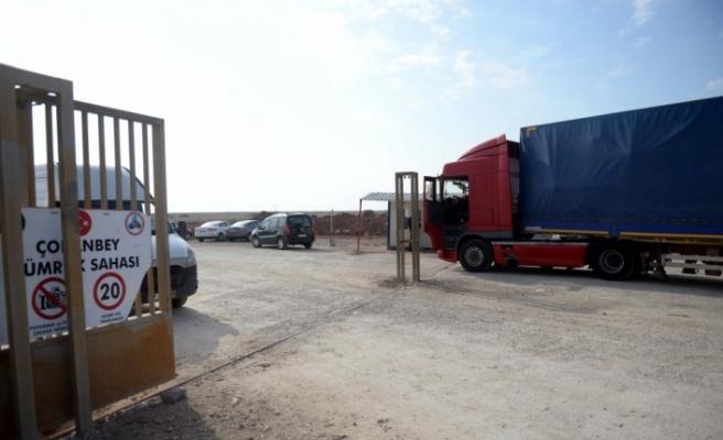 Çobanbey Sınır Kapısı yeniden açıldı