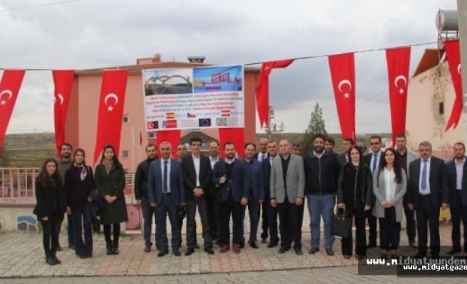 Midyat'ta 8 Öğretmen Erasmusla  Yurtdışına Gidecek