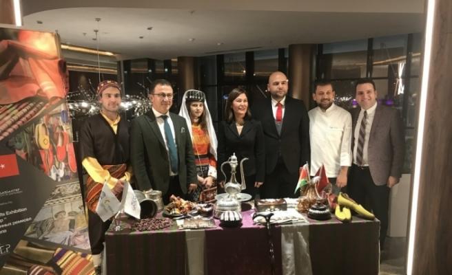 Gaziantep'in kardeş şehrinde 29 Ekim resepsiyonu