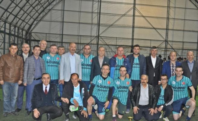 Gölbaşı'nda kurumlar arası futbol turnuvası