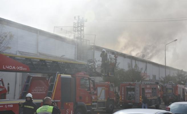 GÜNCELLEME - Gaziantep'te yangın