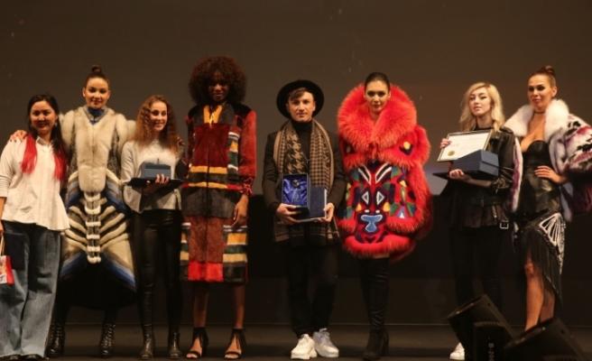Kürk sektörünün genç tasarımcıları ödüllendirildi