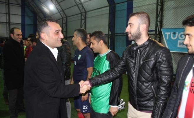 Mazıdağı'da futbol turnuvası