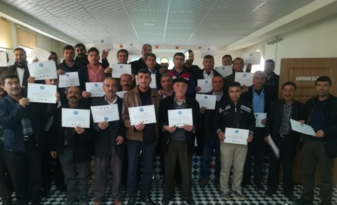 Midyat'ta Servis Sürücülerine Trafik Eğitimi