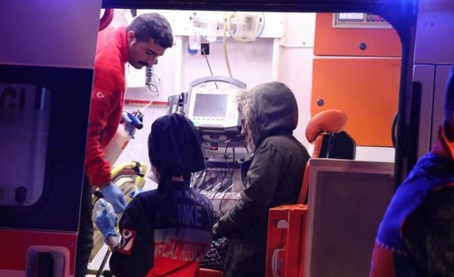 Siirt'te yurtta kalan öğrencilerin gazdan etkilenmesi