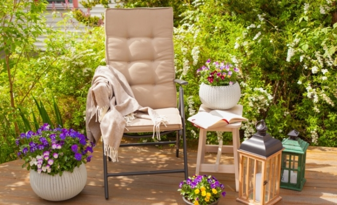 Bahçe ve balkonlar sahibinden.com ile renklendi
