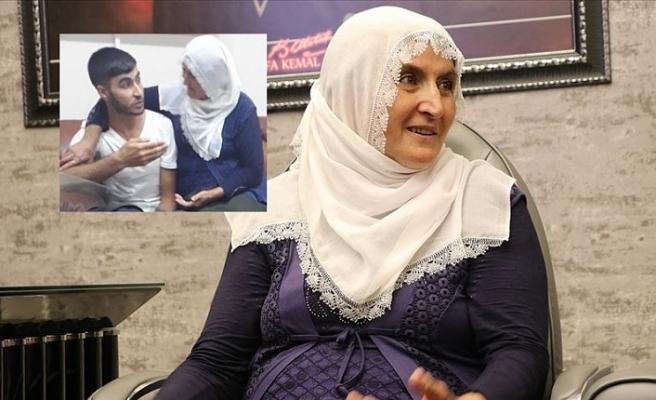 Oğlunu PKK'dan kurtaran Hacire Akar'a ziyaret