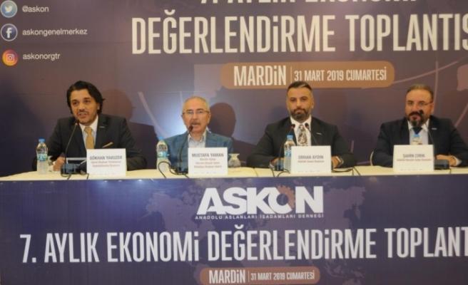 ASKON 7. Aylık Ekonomi Değerlendirme Toplantısı