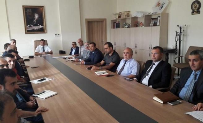 Nizip'te acil durum ve kriz değerlendirme toplantısı