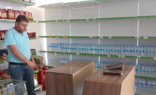 Siirt'te iş yerinde hırsızlık