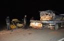 Gaziantep'te taksiyle otomobil çarpıştı: 4 yaralı