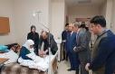 Lise öğrencilerinden hasta ziyareti