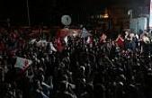 Recep Tayyip Erdoğan'ın seçim başarısı kutlanıyor