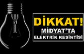 Midyat Elektrik Kesintisi