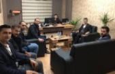 Aday Adayı Abdulhakim KAYA Midyat Gençlik Derneği'ni Ziyaret Etti