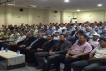 Midyat'ta seçim güvenliği toplantısı yapıldı