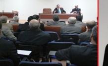 Midyat'ta, Köylere hizmet götürme birliği olağan meclis toplantısını yaptı