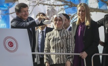 Başbakan Davutoğlu, Yeşilli İlçesi vatandaşlara seslendi
