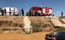 Şanlıurfa'da otomobil tahliye kanalına devrildi: 5 yaralı