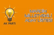 Ak Parti Mardin Milletvekili Aday Listesi Belli Oldu