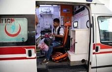 Şanlıurfa'da yolcu minibüsü devrildi: 14 yaralı
