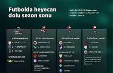 GRAFİKLİ - Futbolda heyecan dolu sezon sonu