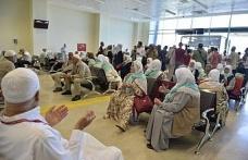 Mardin'de hacı adayları kutsal topraklara uğurlandı