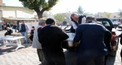 Midyat Belediyesi Aşure Dağıttı
