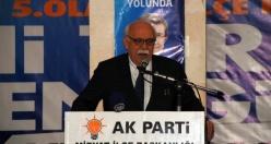 Ak Parti Midyat İlçe Teşkilatı için 5. Olağan Kongresi Bakan Nabi AVCI'nın Katılımıyla Yapıldı