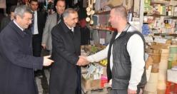 Mardin Valisi Ömer Faruk Koçak Esnaf Ziyareti