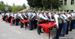 Midyat Jandarma Geçici Köy Korucuları Yemin Töreni
