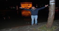 Midyat'ta Sağanak Yağış