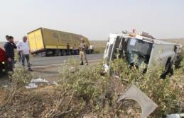 Midyat'ta Trafik Kazası