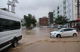 Mazıdağı'nda Şiddetli Yağış