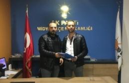 Fatih MARAL Ak Parti'den Meclis Üyesi Başvurusunu Yaptı