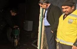 Şanlıurfa'da mezarlıktan hırsızlık