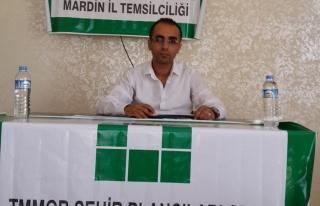 Mardin Şehir Plancıları Odası Başkanı Reşit...