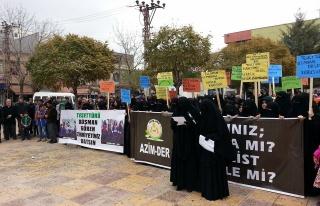 Midyat Azim Der Kadın Kollarından Basın Açıklaması