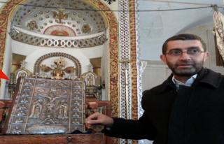 Midyat'ta Kiliseden Çalınan İncil Bulundu