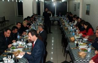 Midyat SYD Müdürü Orhan Günel'e Veda Yemeği Toplantısı...