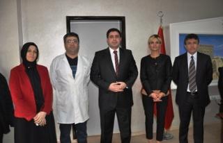 Yeni Midyat Devlet Hastanesi Baş Hekimi Osman Özdemir...