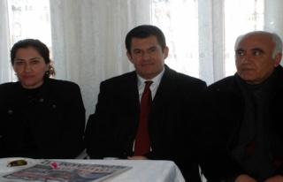 Midyat Halkların Demokratik Partisi (HDP) ilçe teşkilatının...